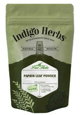 Papaya Leaf Powder 100g Beneficial Plant Compounds - Indigo Herbs