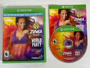 Zumba Fitness World Party -- Xbox One -- UK Seller --