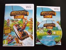 Cabela's Adventure Camp-Nintendo Wii/Wii U-PAL-RARE-Gratis, Rápido P&P!