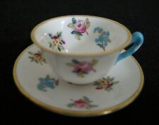 Crown Staffordshire Miniature Cup & Saucer,