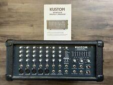Kustom Kpm7250 200 Watt Pa Mixer/Amplifier Powered Mixer -Cyber Monday Sale