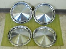 "1957 Plymouth HUB CAPS 14"" Set of 4 Mopar Wheel Covers 57 Hubcaps"
