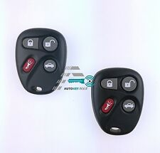 2 New Replacement Keyless Entry Remote Key Fob Control for 25695954, 25695955