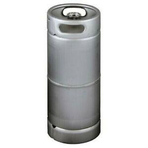 Stainless Steel US Sanke Keg - 5.16 gal Sankey D 1/6 Barrel Beer Keg NEW in Box