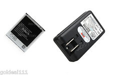 NEW 2600mAh Battery + USB Dock/Wall Charger for SamSung Galaxy S4 SIV i9500 *