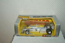 Car Burago Grand Price Williams Fw08C Turbo Die-Cast New Box 1/24 F1 Car