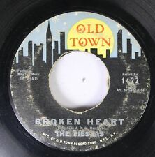 50'S & 60'S 45 The Fiestas - Broken Heart / The Railroad Song On Old Town