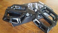 """DMR V8 V2 (Version 2) Pedals (NEW) 9/16"""" Mountain Bike BMX Flat Platform (BLACK)"""