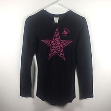 NWT Diesel Girl's Black Long Sleeve Shirt Size XXL