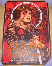 Red Hot Chili Peppers concert gig poster print Louisville 5-16 2017 Nikita Kaun