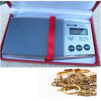 Bilancia Precisione Digitale Lcd Bilancino Custodia 0.1 500 Grammi Pesa Casa 800