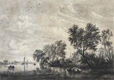 Salomon VAN RUYSDAEL (c.1602-1670) par Gustave Marie GREUX (1838-1919) 1877