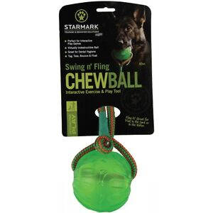 Starmark Ball Fluorescent With Rope