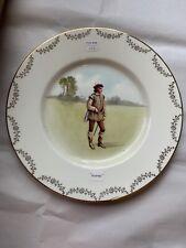 """Antique Royal Doulton """"Orlando� Collector 10&1/2� Plate"""