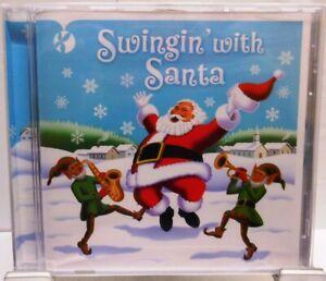 Swinging with Santa CD Stimmungsvolles Album 16 Big Band Songs Weihnachten /179