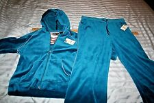 Ladies St. John's Bay Active Med Hoody Workout Jacket Petite size & Pants Large