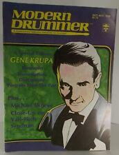 Modern Drummer Gene Krupa Tribute Oct Nov 1979 Iss 13 NO LABEL New With 1 Flaw