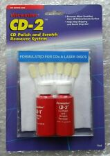 DISC WASHER  CD-2 CD POLISH AND SCRATCH REMOVER SYSTEM FOR CD'S & LASER DISC NEW