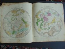 c.1835 ATLAS DESIGNED TO ILLUSTRATE THE GEOGRAPHY OF THE HEAVENS