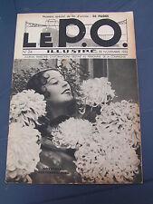 le P.O. 1932 24 TOURY SAINT BRICE SUR VIENNE COUZE CONDAT LE LARDIN BUDELIèRE BO