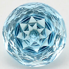 8.65 Cts Natural Sky Blue Topaz 12X12 mm Round Cut Loose GemstoneDG165SY