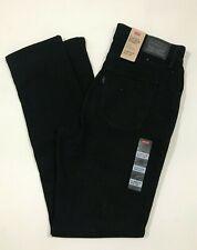 LEVI'S Women's Black Jeans Sz 10 30 W 30 L Classic Sculpt Slim Mid-Rise Skinny