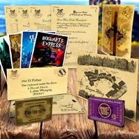 Customised Hogwarts Acceptance Letter Marauders Map Christmas Gift Harry Potter