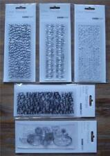 Alphabets Clear Rubber Stamps