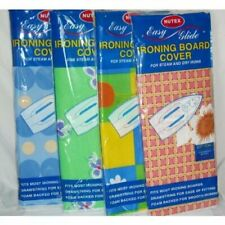 """4 X NUTEX EASY GLIDE IRONING BOARD COVERS (40"""" X 17"""")"""