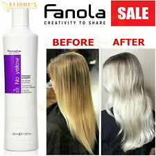 Fanola No Yellow Shampoo 350ml Anti Yellow Brass Bleached Tones Gives Silver