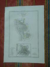 1844 Zuccagni-Orlandini Compartimento Pisano Territorio Unito Pisa, Pianta Mappa