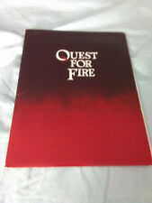 Quest for Fire (Movie Press Kit)