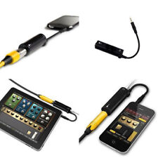 Guitar Interface Replacement Guitar for iPhone/iPod/iPad IRig Converter Black H2