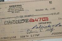 Lucille Ball 1962 Desilu Studio Check THE LUCY SHOW The Broadway Bank of America