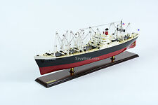 American Scout C-2 Cargo Ship Handmade Wooden Ship Model 35""