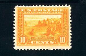 USAstamps Unused VF US 1913 Panama Pacific Scott 400 OG MHR
