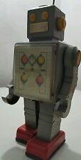 VINTAGE ROBOT POGOT WIND UP TOY ORIGINAL KEY WORKS USSR CCCP SOVIET ERA RUSSIA