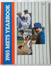 Vintage New York Mets 1985 Yearbook