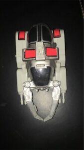 Beetleborgs Vehicle - Bandi - 1997 Titanium Silver Battle Vehicle Bv Rare Toy