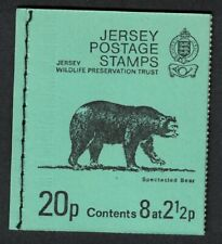 Jersey Spectacled Bear Booklet 1974 N/A SG#SB15