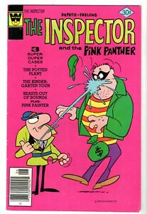 The Inspector and The Pink Panther #18, Fine Condition