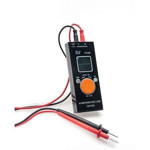 ELV Bausatz Komponententester/ESR-Meter mit OLED-Display KT200