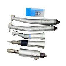 Dental Push Button High Low Speed Handpiece Kit Ceramic Cartridge 4H UK STOCK