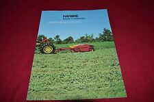 New Holland 472 474 488 489 495 1495 Haybine Dealers Brochure SHPA 9-79