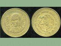 MEXIQUE 1000 pesos 1989