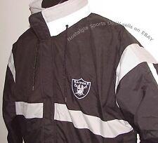 New listing Vintage 90s Oakland LA RAIDERS STARTER Jacket Sewn LETTER  NFLProLine NWT MEDIUM