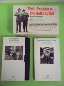 TOTO' PEPPINO E (HO DETO TUTTO). VHS + LIBRO TOTO E PEPPINO FRATELLI D'ITALIA