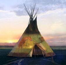 R. Tom Gilleon COEUR d' ALENE, Tipi, giclee canvas ARTIST PROOF A/P #10/10