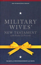 NEW Hardcover Bible! NIV Military Wives' New Testament with Psalms & Proverbs