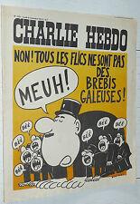 CHARLIE HEBDO N°155 05/11 1973 WOLINSKI CAVANNA CHORON REISER GEBE WILLEM CABU
